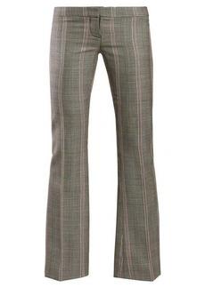 Alexander McQueen Herringbone wool trousers