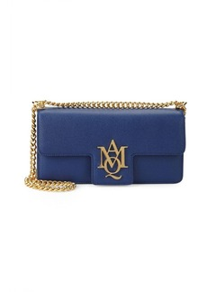 Alexander McQueen Insignia Leather Clutch