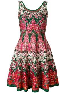 Alexander McQueen kaleidescope floral dress