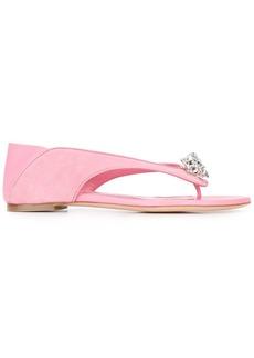 Alexander McQueen king and queen sandals - Pink & Purple