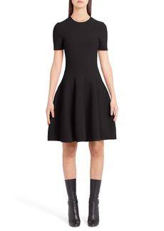 Alexander McQueen Knit Fit & Flare Dress