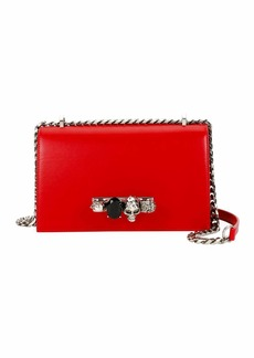 Alexander McQueen Knuckle Flap Shoulder Bag