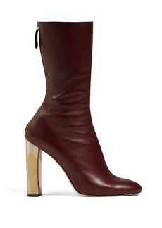 Alexander McQueen Leather ankle boots