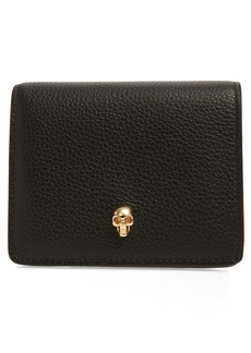 Alexander McQueen Leather Card Case
