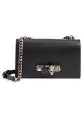 Alexander McQueen Leather Crossbody Knuckle Bag