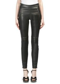 Alexander McQueen Leather Leggings