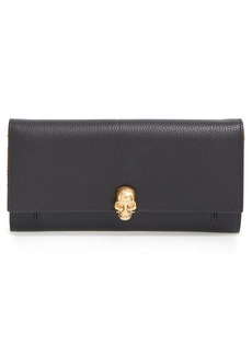 Alexander McQueen Leather Wallet on a Chain