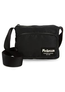 Alexander McQueen Logo Crossbody Bag