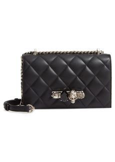 Alexander McQueen Matelassé Leather Shoulder Bag