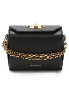 Alexander McQueen Medium Calfskin Leather Box Bag