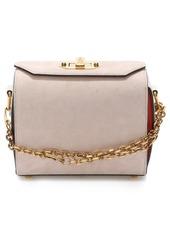 Alexander McQueen Medium Calfskin Suede Box Bag