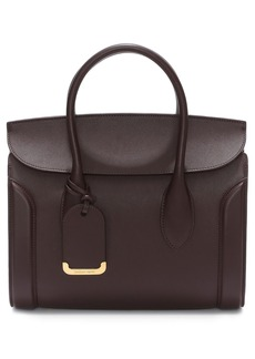 Alexander McQueen Medium Heroine Calfskin Leather Shopper