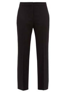 Alexander McQueen Men's Cut straight-leg trousers