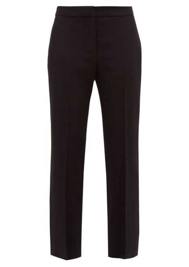 Alexander McQueen Men's Cut straight-leg trousers