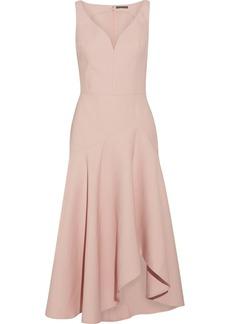 Alexander McQueen Wool-blend midi dress