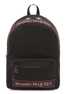 Alexander McQueen Metropolitan Selvedge Logo Tape Backpack