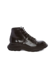 Alexander McQueen Military Laced Boots