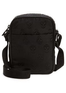 Alexander McQueen Mini Urban Skull Jacquard Messenger Bag