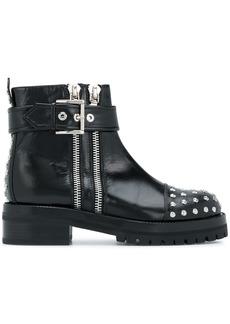 Alexander McQueen Mod boots - Black