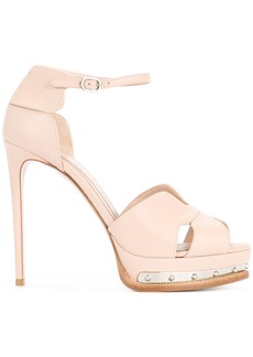 Alexander McQueen Mod Heels - Pink & Purple
