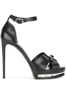Alexander McQueen Mod sandals - Black