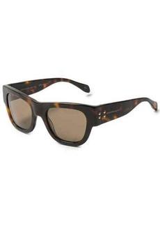 Alexander McQueen Mod Wayfarer Sunglasses (For Women)