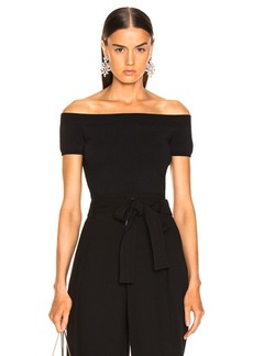 Alexander McQueen Off the Shoulder Top