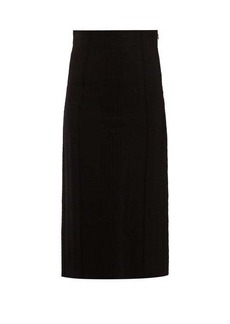 Alexander McQueen Panelled pencil skirt