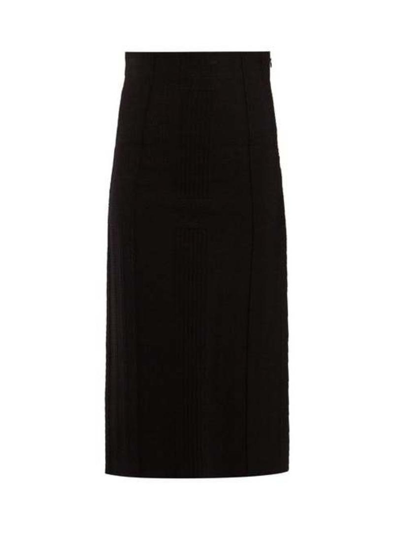 Alexander McQueen Panelled pencil skirt