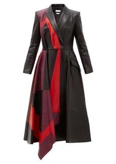 Alexander McQueen Patchwork leather coat