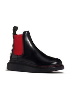 Alexander McQueen Platform Chelsea Bootie (Women)
