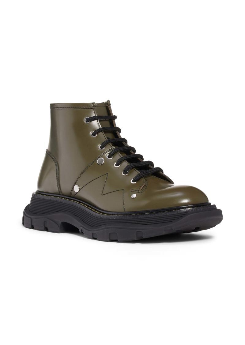Alexander McQueen Platform Combat Boot (Women)