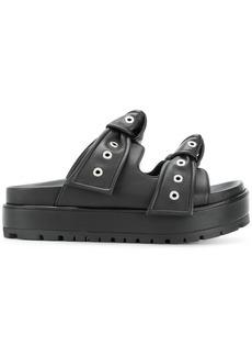 Alexander McQueen platform sandals - Black