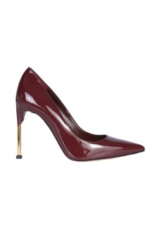 Alexander McQueen Pump With Metal Heel