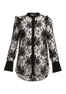 Alexander McQueen Sarabande lace blouse