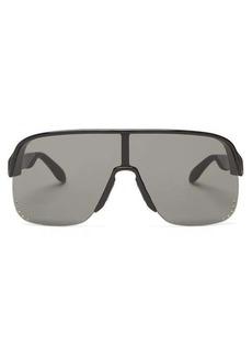 Alexander McQueen Shield acetate sunglasses