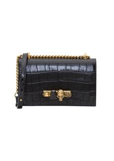 Alexander McQueen Shoulder Bag With Jewelled Detail