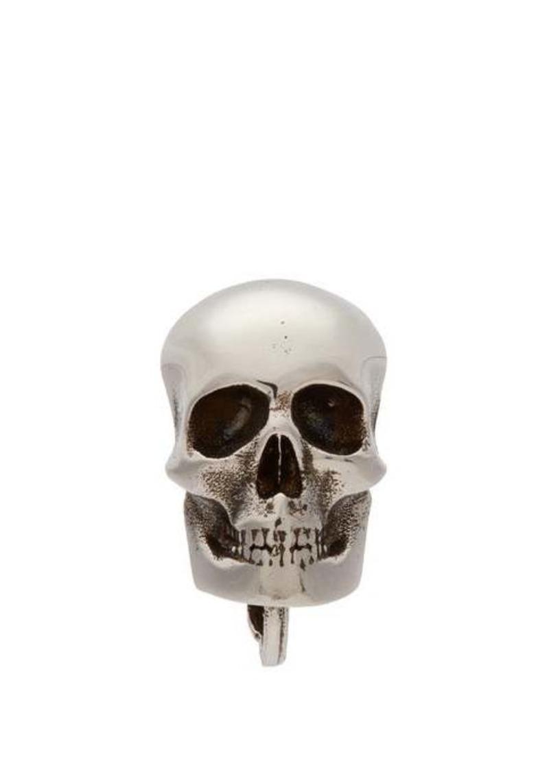 Alexander McQueen Single skull earring