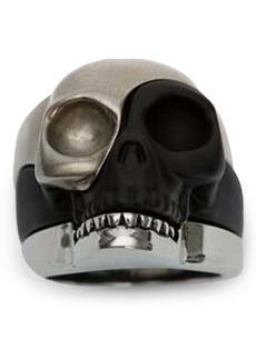 Alexander McQueen Skull Stack Ring