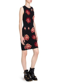 Alexander McQueen Sleeveless Bodycon Mini Dress