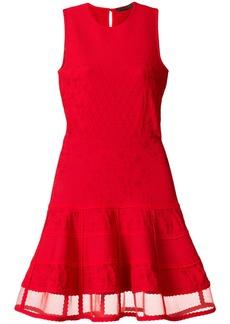 Alexander McQueen sleeveless knit dress - Red
