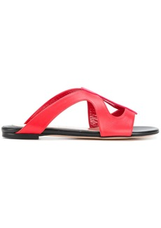 Alexander McQueen slip-on sandals - Red