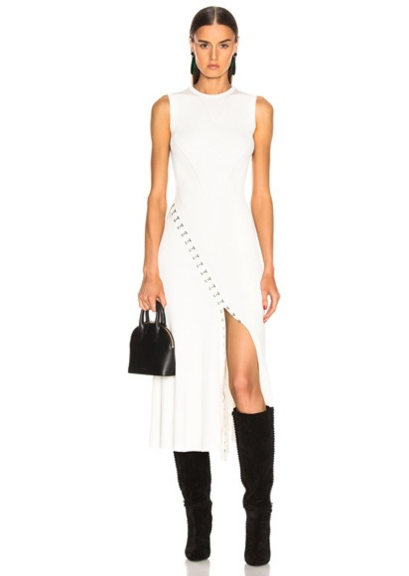 Alexander McQueen Slit Dress