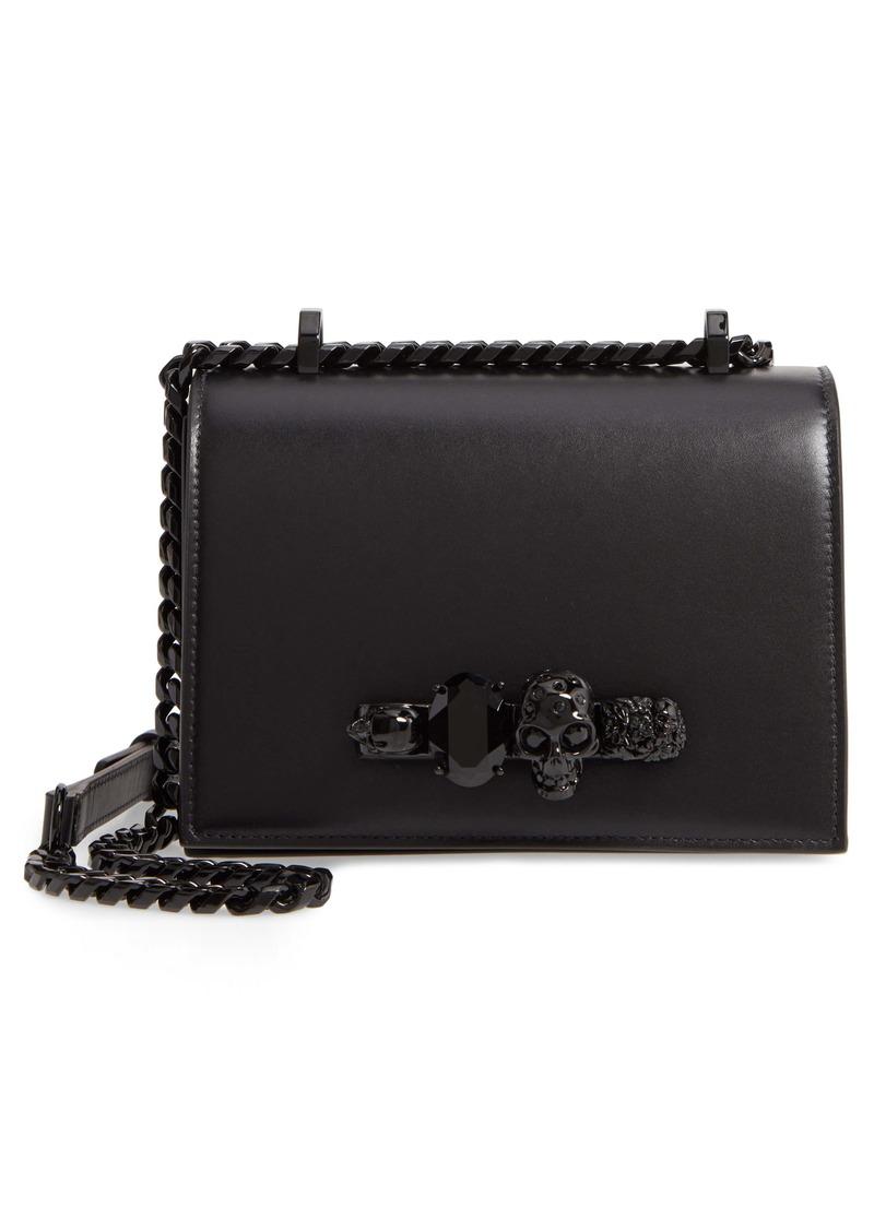 Alexander McQueen Small Leather Shoulder Bag
