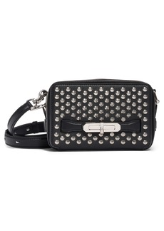 Alexander McQueen Small The Myth Studded Leather Camera Bag
