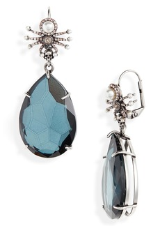Alexander McQueen Spider Droplet Earrings