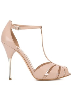 Alexander McQueen stiletto sandals - Pink & Purple