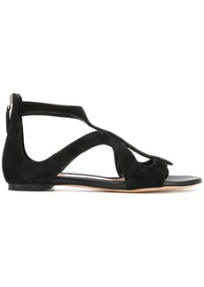 Alexander McQueen strappy sandals - Black