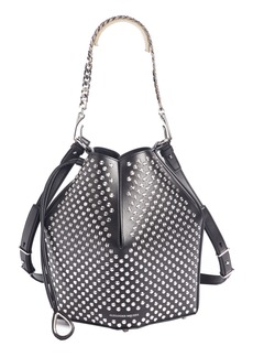 Alexander McQueen Studded Leather Bucket Bag