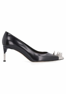 Alexander McQueen Studded Leather Pointy-toe Pumps